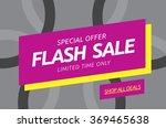 flash sale banner template... | Shutterstock .eps vector #369465638