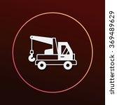 cargo truck icon | Shutterstock .eps vector #369489629