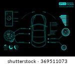 Stock vector car auto service infographics design vector 369511073