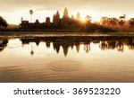 Angkor Wat At Morning Sunrise ...