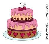 cartoon colour vector... | Shutterstock .eps vector #369536540