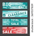 set of vector banners for... | Shutterstock .eps vector #369537839