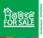 home for sale icon illustration ... | Shutterstock .eps vector #369569564