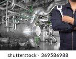 technician maintenance... | Shutterstock . vector #369586988