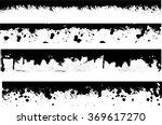grunge edges vector set ....