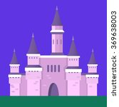 castle vector illustration | Shutterstock .eps vector #369638003