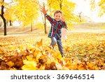 Image Of Beautiful Boy Jumping...