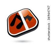 dog prohibition sign | Shutterstock .eps vector #36964747
