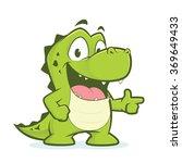Crocodile Or Alligator Pointing