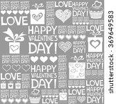 happy valentine's day.... | Shutterstock .eps vector #369649583