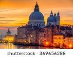grand canal and basilica santa... | Shutterstock . vector #369656288