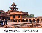 fatehpur sikri  india   jan 20  ... | Shutterstock . vector #369666683