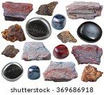 Set Of Natural Mineral...