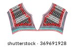 ethnic neck embroidery for... | Shutterstock .eps vector #369691928