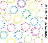 sun rays. hand drawn doodle sun ... | Shutterstock .eps vector #369701450