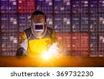industrial worker at the...   Shutterstock . vector #369732230