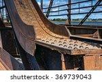 old rusty bridge with rivets | Shutterstock . vector #369739043