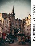 edinburgh  uk   oct 8  city...   Shutterstock . vector #369747014
