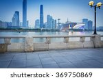 night skyline and modern... | Shutterstock . vector #369750869