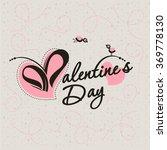 valentine's day. vector...   Shutterstock .eps vector #369778130