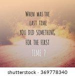 inspirational quote  ... | Shutterstock . vector #369778340