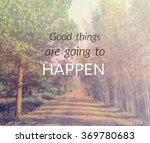 inspirational quote  ... | Shutterstock . vector #369780683