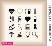 medical icons | Shutterstock .eps vector #369782894