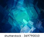 abstract blue creative... | Shutterstock . vector #369790010