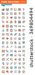 thin line web icons for medical ... | Shutterstock .eps vector #369804494