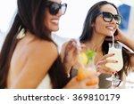 Gorgeous Ladies Drinking...