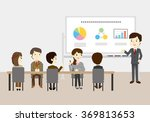 people who have the training... | Shutterstock .eps vector #369813653