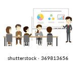 people who have the training... | Shutterstock .eps vector #369813656