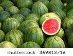 Watermelon Slice.many Big Swee...