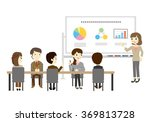 people who have the training... | Shutterstock .eps vector #369813728