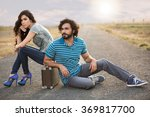 fashion models posing for a... | Shutterstock . vector #369817700