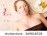 beautiful young woman before...   Shutterstock . vector #369818528