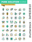 modern thin line icons set of... | Shutterstock .eps vector #369830810
