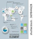element for infographic chart... | Shutterstock .eps vector #369844628