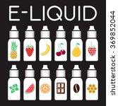 vector e liquid illustration of ... | Shutterstock .eps vector #369852044