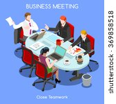 businesspeople society members... | Shutterstock .eps vector #369858518