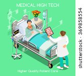 medical clinic high tech... | Shutterstock .eps vector #369858554