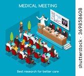 medical seminar event clinic... | Shutterstock .eps vector #369858608
