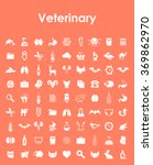 set of veterinary simple icons | Shutterstock .eps vector #369862970