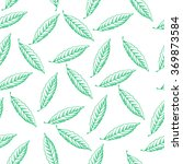 green leaf pattern | Shutterstock .eps vector #369873584