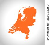 map of netherlands | Shutterstock .eps vector #369882350