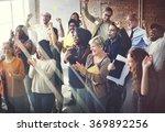 team teamwork meeting success... | Shutterstock . vector #369892256