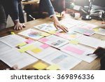business people meeting design... | Shutterstock . vector #369896336