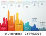 modern infographic option... | Shutterstock .eps vector #369903098