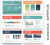 set of  presentation template   ... | Shutterstock .eps vector #369909128