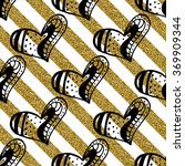 seamless pattern with the hand... | Shutterstock .eps vector #369909344